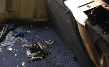 A freshers week student at King's College London came back to a burnt down room