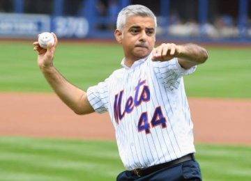 The Major League Baseball boss talks to Sadiq Khan