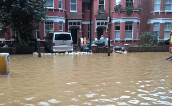 Muswell Hill chaos: buses on diversion, homes underwater