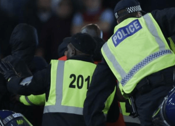 "Police make seven arrests following ""coin throwing"" at West Ham game"