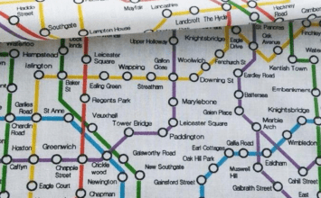 "Messed-up fake tube map leaves commuters feeling ""physically sick"""
