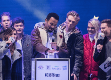 The festive season is here: Craig David turns on Oxford Street Christmas lights in style