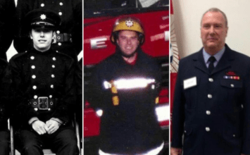 """Thanks for your service"": hero Barking firefighter retires after 40 years serving London"