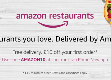 Amazon Restaurants launches in lots of new London neighbourhoods today
