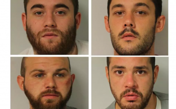 "Four men jailed after ""smash and grab"" raid at posh watch shop in Piccadilly"