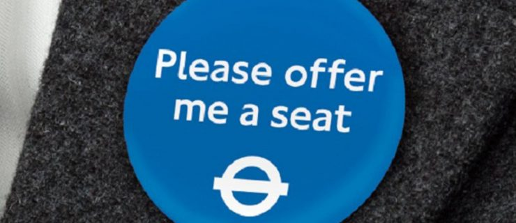 'Please offer me a seat': new Tube badges
