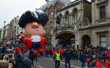 The New Year's Day parade in Whitehall went down a storm