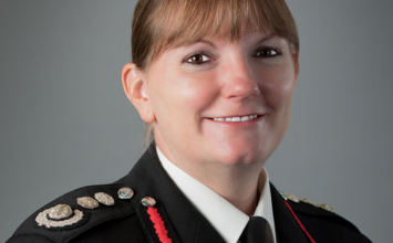 One of Europe's highest-ranking women firefighters has taken over in London