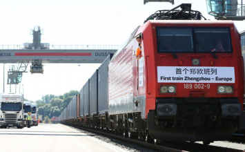 There's now a direct freight train going all the way from China to London