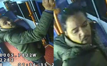 Police are looking for a man who assaulted a bus driver in Croydon