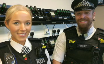Police in Bexley are now wearing body-worn video cameras