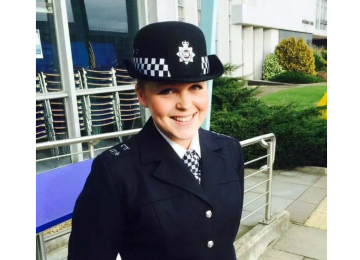 Sergeant Sally praised after she saved a man's life in Caffe Nero