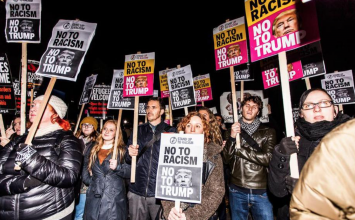 """""""About time I say no to Trump"""": Londoners are set to protest the inauguration"""