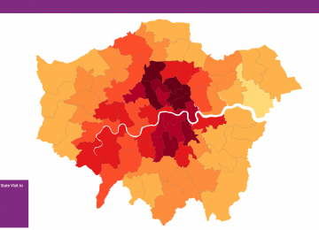 Which parts of London are keenest to deny Donald Trump a state visit?