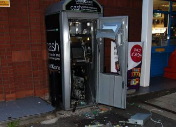 "The gang that ""bombed"" this cash machine could have killed people."
